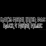 Radio Kat's Metal Litter Box