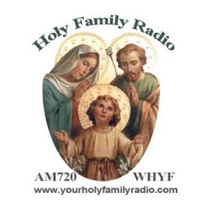 WHYF 720 AM - Holy Family Radio